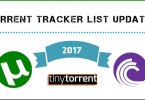 Torrent Tracker List updated