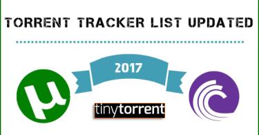 Torrent Tracker List updated