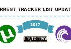torrent tracker list latest 2017