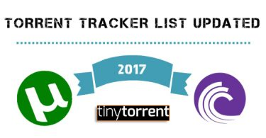 torrent tracker list latest 2017