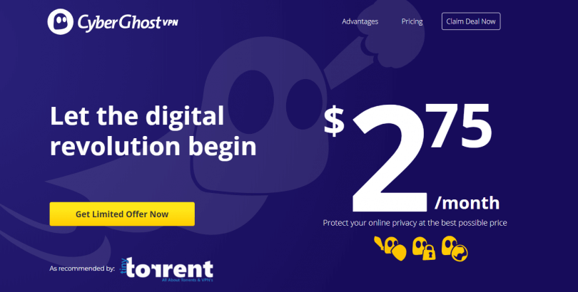 CyberGhost VPN Coupon Promo Exclusive Offer