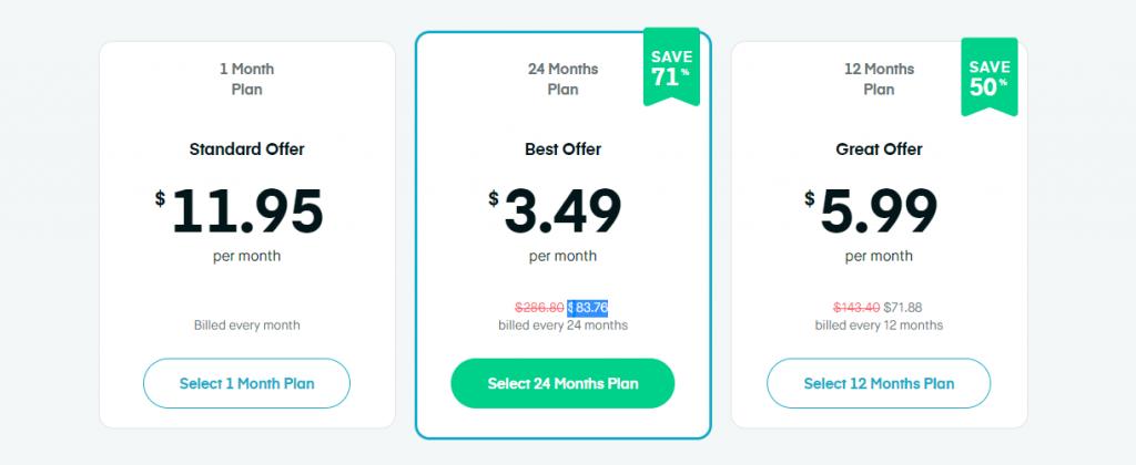 Surfshark VPN Plan Details